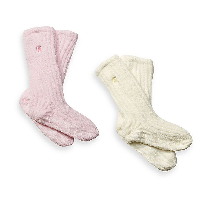 Alternate image 1 for Dream Silk™ Cozy Socks™
