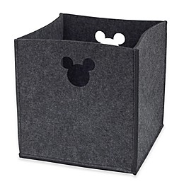 Disney® Mickey Mouse Storage Bin in Grey
