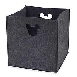 Disney® Mickey Mouse Storage Bin in Grey