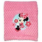 Disney® Minnie Mouse Popcorn Fleece Blanket in Pink