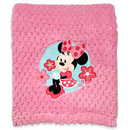 Disney® Minnie Mouse Popcorn Fleece Blanket in Pink