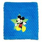 Disney® Mickey Mouse Popcorn Fleece Blanket in Blue