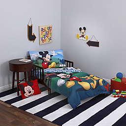 Disney® Mickey Mouse Playhouse 4-Piece Toddler Bedding Set