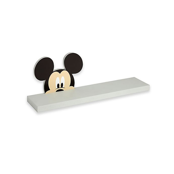 Alternate image 1 for Disney® Baby Mickey Mouse Shelf in Grey