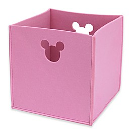 Disney® Minnie Mouse Storage Bin in Pink