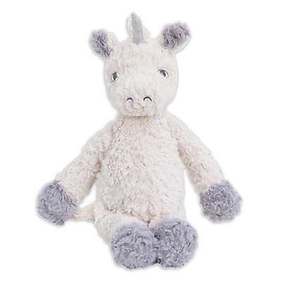 Cuddle Me Floppy Plush Unicorn in Ivory