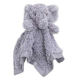 Cuddle Me Elephant Security Blanket in Grey