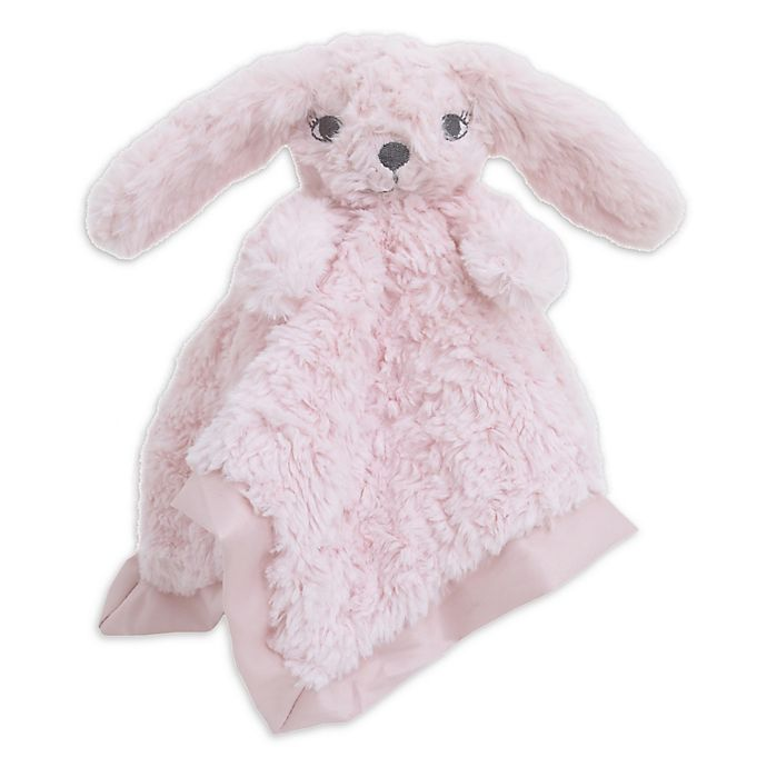 Alternate image 1 for Cuddle Me Bunny Security Blanket in Pink