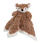 Cuddle Me Fox Security Blanket in Brown