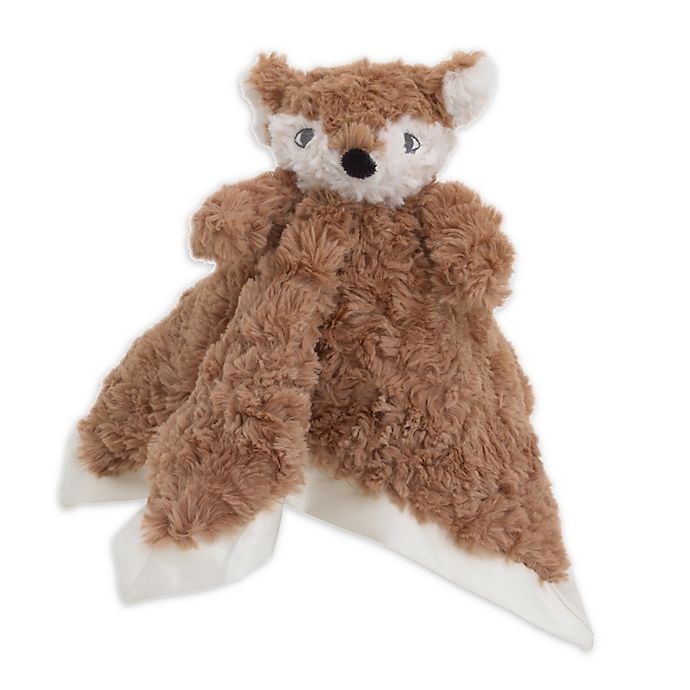 Alternate image 1 for Cuddle Me Fox Security Blanket in Brown