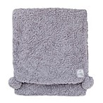 Cuddle Me Nursery Throw/Mommy Blanket in Grey