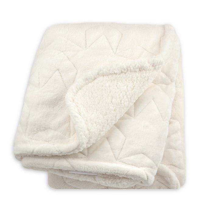 Alternate image 1 for Just Born® Star Luxury Blanket