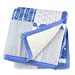 Just Born® Patchwork Plush Blanket