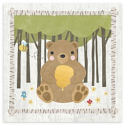 Courtside Market Woodland Hideaway 16-Inch Square Canvas Wall Art