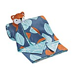 Lambs & Ivy® 2-Piece Minky Blanket and Lovey Fox Set