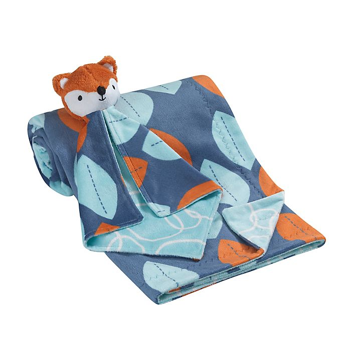 Alternate image 1 for Lambs & Ivy® 2-Piece Minky Blanket and Lovey Fox Set