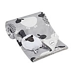 Lambs & Ivy® 2-Piece Sheep Blanket and Stroller Toy Set in Grey/White