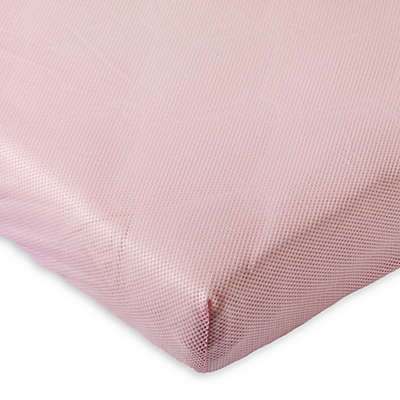 AeroSleep® Fitted Crib Sheet in Pink