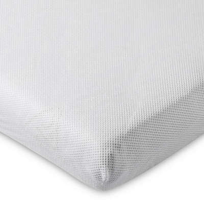 AeroSleep® Fitted Crib Sheet in White