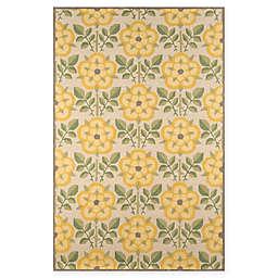 Momeni Newport 2' x 3' Accent Rug in Yellow