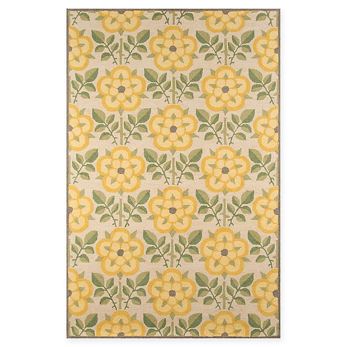Alternate image 1 for Momeni Newport 8' x 10' Area Rug in Yellow