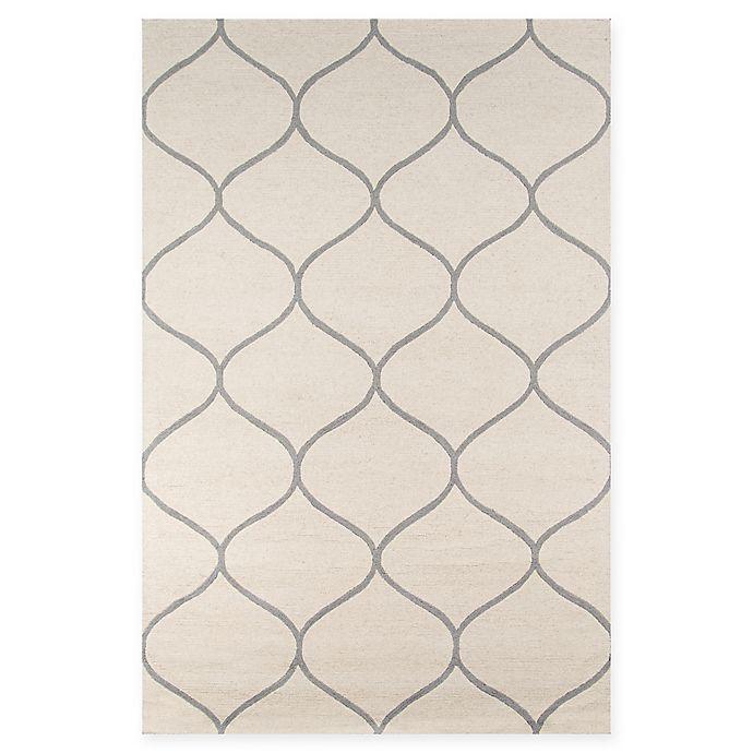 Alternate image 1 for Momeni Newport Trellis 8' x 10' Area Rug in Ivory