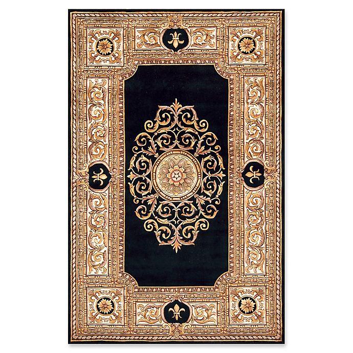 Alternate image 1 for Momeni Maison Baroque 8' x 11' Area Rug in Black