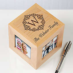 Engraved 4-Photo 2.5-Inch x 2.5-Inch Photo Cube Collection