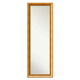 Townhouse On The Door Mirror in Gold