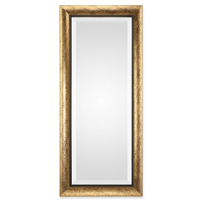 Alternate image 1 for Uttermost Leguar 20-Inch x 46-Inch Rectangle Mirror in Gold