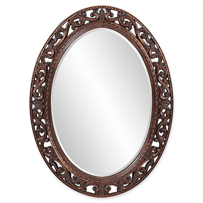 38 Inch X 28 Suzanne Oval Mirror, Decorative Wall Mirrors Bed Bath And Beyond