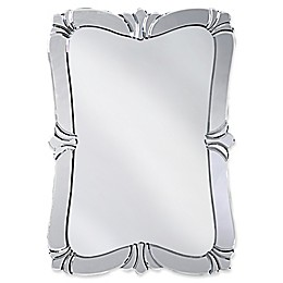 Howard Elliott® 22-Inch x 31-Inch Rectangular Messina Fleur de Lis Mirror