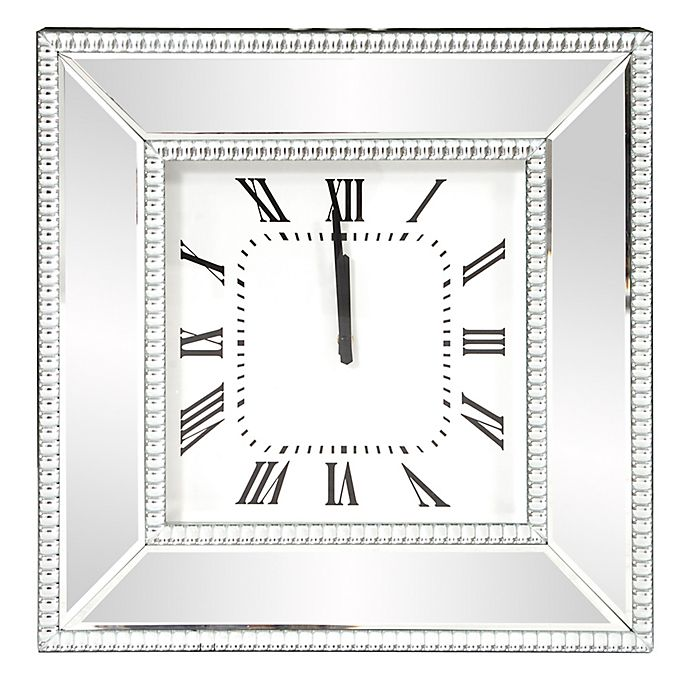 Alternate image 1 for Howard Elliott® Collection 20-Inch Mirrored Wall Clock