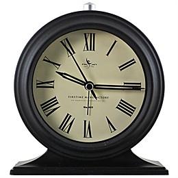 FirsTime® Antolini Tabletop Alarm Clock in Black