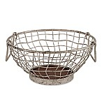 Spectrum™ Heritage Galvanized Metal Fruit Bowl