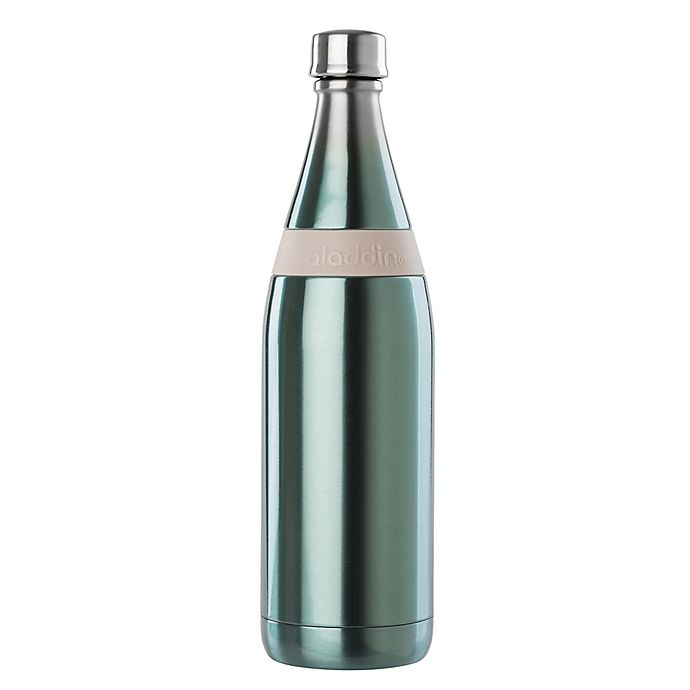Alternate image 1 for Aladdin® Fresco Twist 'n Go 20 oz. Stainless Steel Vacuum Insulated Bottle in Blue