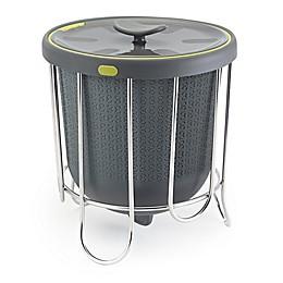 Polder® 1-Gallon Kitchen Compost Bucket in Grey
