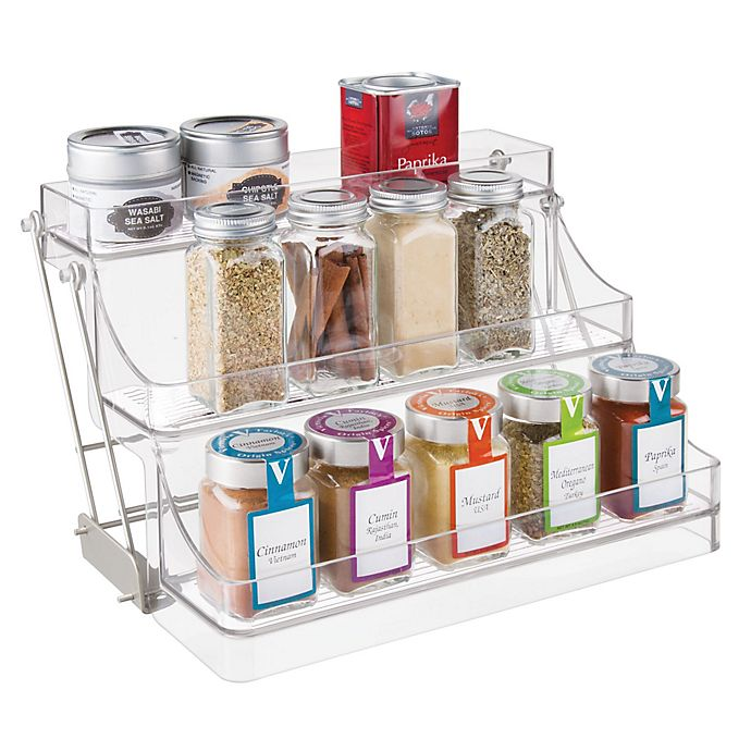Alternate image 1 for InterDesign® Cabinet Binz™ Easy-Reach Spice Rack