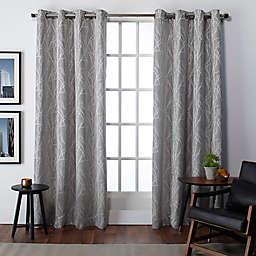 Finesse Grommet Top Window Curtain Panels (Set of 2)