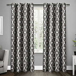 Gates Grommet Top Room Darkening Window Curtain Panel Pair