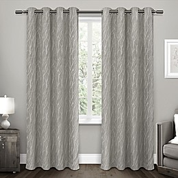 Forest Hill 2-Pack Grommet Top Room Darkening Window Curtain Panels