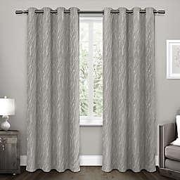 Forest Hill 2-Pack Grommet Top Room Darkening Window Curtain Panels