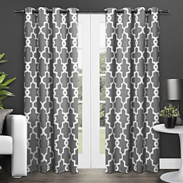 Ironwork 2-Pack Grommet Top Room Darkening Window Curtain Panels