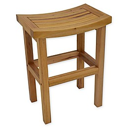 222 Fifth Teakwood Bar Stool