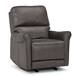 Simpli Home™ Garrison Recliner in Grey