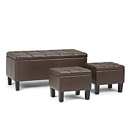 Simpli Home™ Upholstered Ottoman