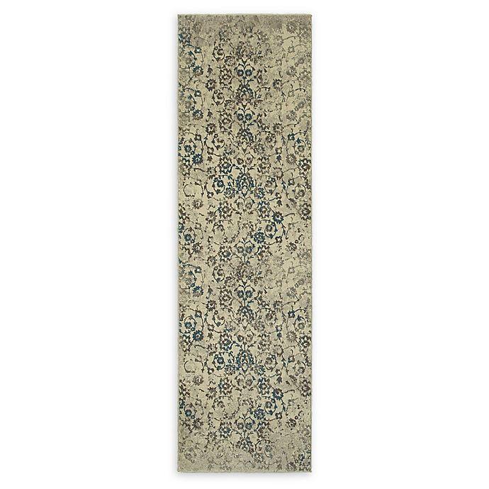 Alternate image 1 for Oriental Weavers Pasha Floral 2'3 x 7'6 Runner in Beige