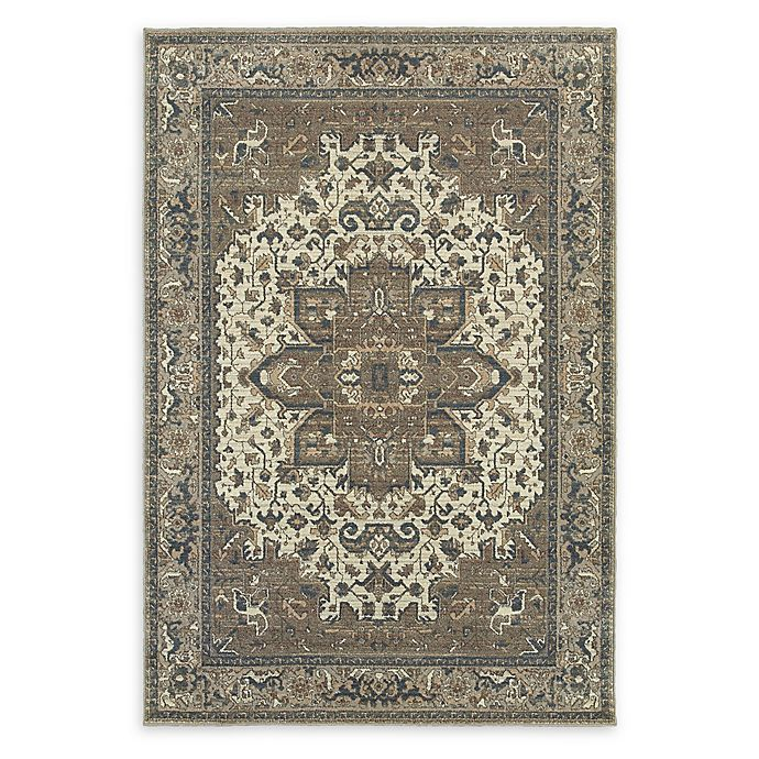 Alternate image 1 for Oriental Weavers Pasha Woven 7'10 x 10'10 Area Rug in Ivory