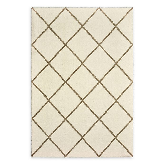 Alternate image 1 for Oriental Weavers Verona Woven Area Rug in Ivory