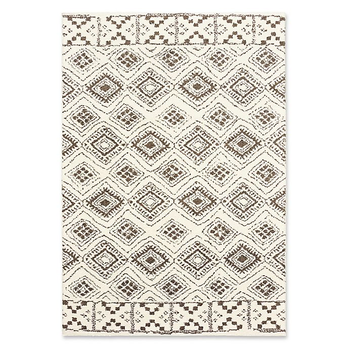 Alternate image 1 for Oriental Weavers Verona Geometric Woven 7'10 x 10'10 Area Rug in Ivory